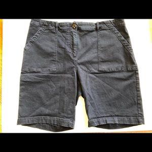 BODEN Cotton Stretch Chino Bermuda Shorts size 14